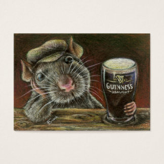 Paddy the rat ACEO prints Business Card