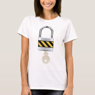 Padlock and Key T-Shirt