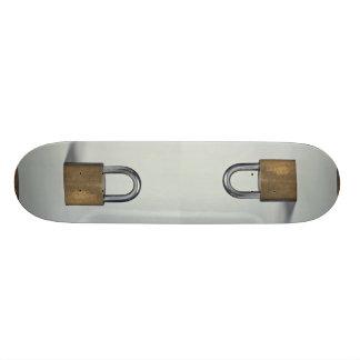 Padlock Custom Skate Board