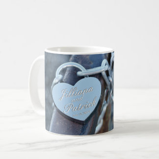 Padlock Lover Silver Specialized Lock Coffee Mug