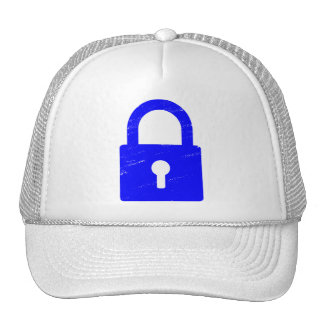 Padlock Textured - Various Colors Available Trucker Hat