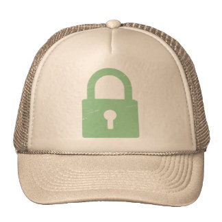 Padlock Textured - Various Colors Available Hat