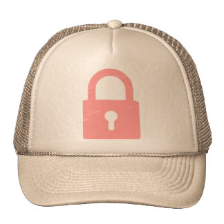 Padlock Textured - Various Colors Available Trucker Hats