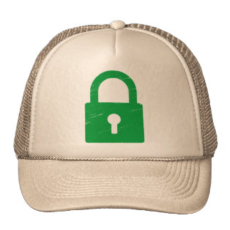 Padlock Textured - Various Colors Available Hats