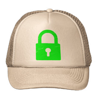Padlock Textured - Various Colors Available Mesh Hats