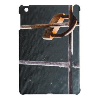 Padlock Web iPad Mini Cover