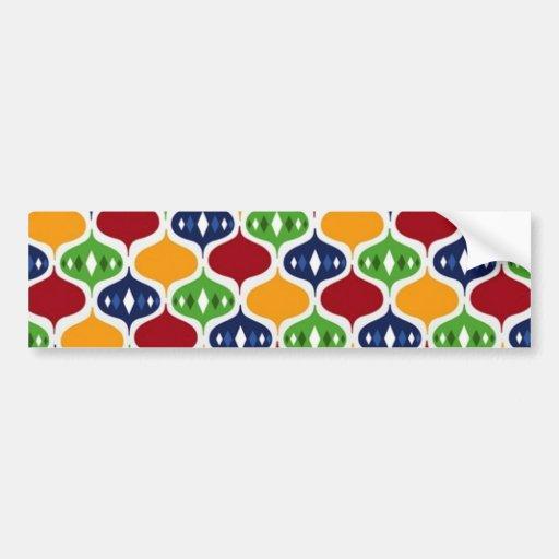 padrão com bolas bumper stickers