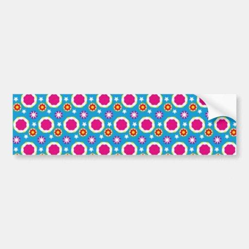 padrão com bolinhas bumper sticker
