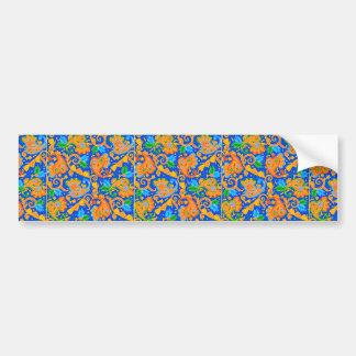padrão com cornecopias bumper stickers