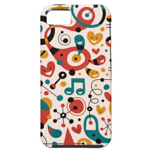 padrão divertido iPhone 5 covers