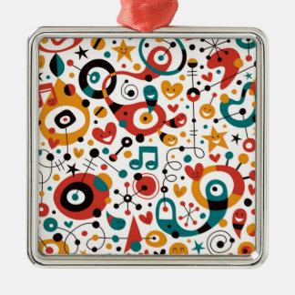 padrão divertido ornament