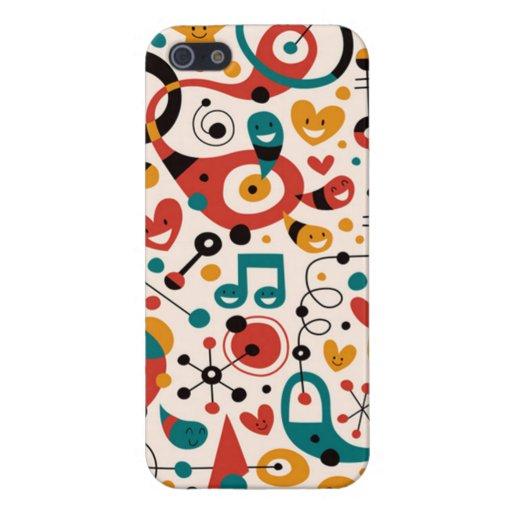 padrão divertido iPhone 5 cover