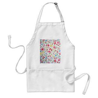 padrão floral apron