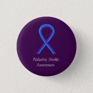 Paediatrics Stroke Awareness Ribbon Custom Pin