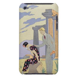 Paestum, 1924 (pochoir print) iPod touch cases