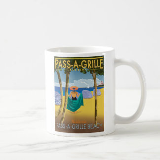 PAG BEACH POSTER COFFEE MUG