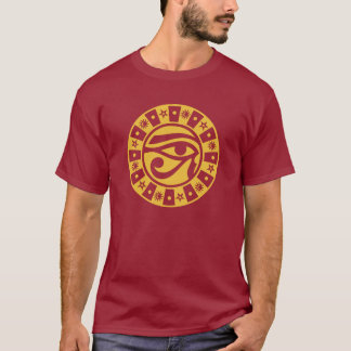 Pagan Ancient Egyptian Eye of Horus Occult Symbol T-Shirt