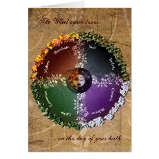Pagan Birthday Card