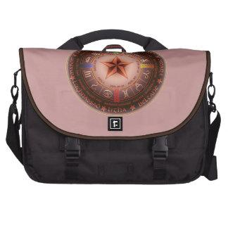 pagan calendar laptop messenger bag