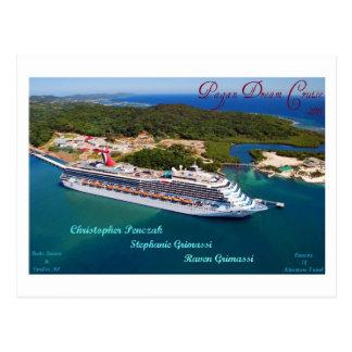 Pagan Dream Cruise Cozumel PC Postcard