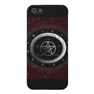 Pagan Elements wheel iPhone 5/5S Case