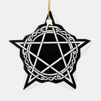 pagan gear ceramic ornament
