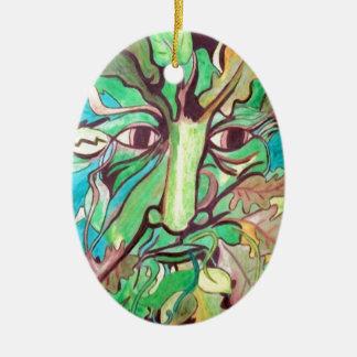 Pagan Greenman Christmas Tree Ornaments