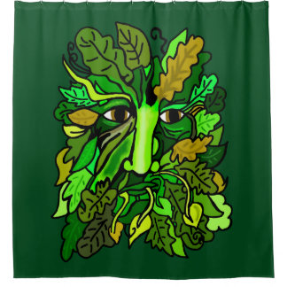 Pagan Greenman Shower Curtain
