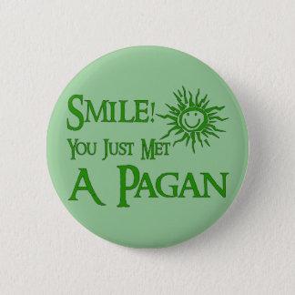 Pagan Smile 6 Cm Round Badge