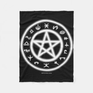 Pagan Symbols Fleece Blanket