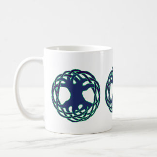 Pagan tree of life coffee mug