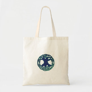 Pagan tree of life tote bag