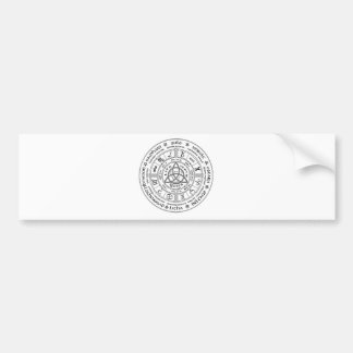 Pagan wheel of the Year Bumper Sticker