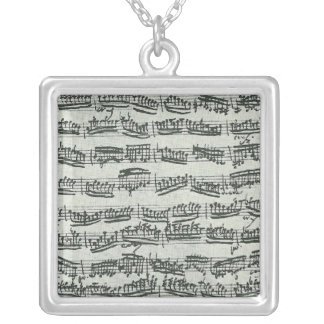 Paganini Moto Perpetuo Silver Plated Necklace