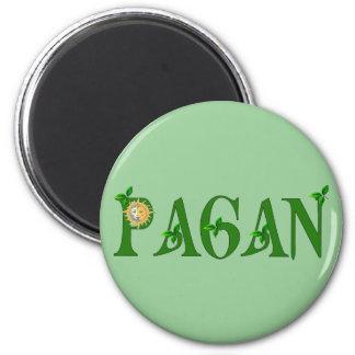 Paganism 6 Cm Round Magnet