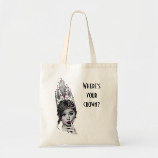 Pageant girl tote bag