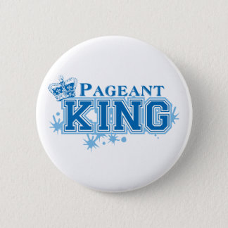 Pageant King 6 Cm Round Badge