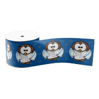 paging new doc owl grosgrain ribbon