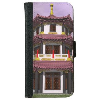 Pagoda - 3D render iPhone 6 Wallet Case
