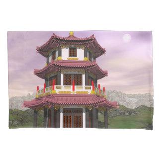 Pagoda - 3D render Pillowcase