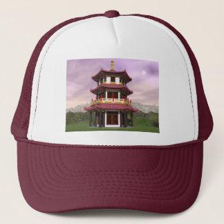 Pagoda - 3D render Trucker Hat