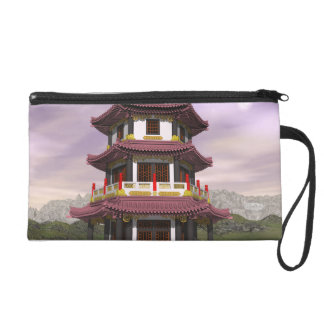 Pagoda - 3D render Wristlet