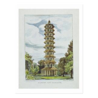 Pagoda, Kew Gardens, plate 9 from 'Kew Gardens: A Postcard