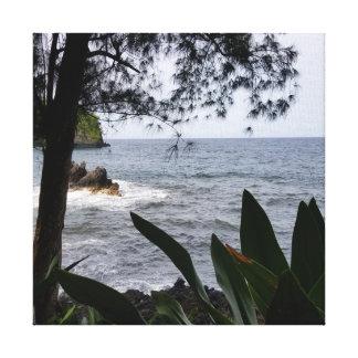 Pahoa, Hawaii Seascape Canvas Print