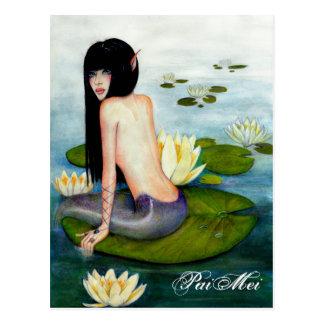 PaiMei the Mermaid Postcard