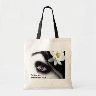Pain Canvas Totebag Budget Tote Bag