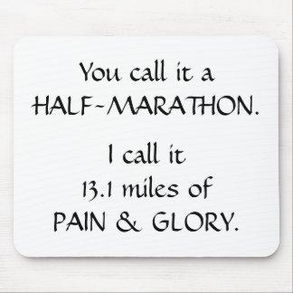 Pain Glory - Half Mouse Mat