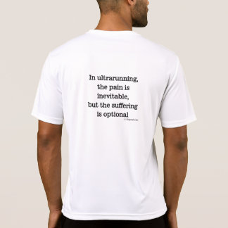 Pain is inevitable quote shirt