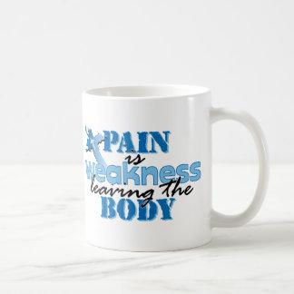 Pain is Weakness leaving the body Coffee Mug