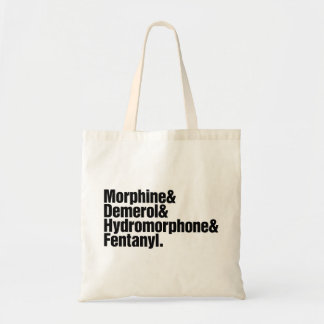 Pain medication grocery tote